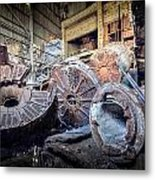 Abandon Destruction Metal Print