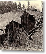 Abandon Montana Mine Metal Print