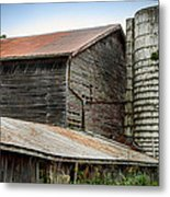 Abandoned Barn Metal Print