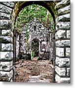 Abandoned Bath House  Ver 2 Metal Print