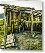 Abandoned Bird Observatory  Metal Print