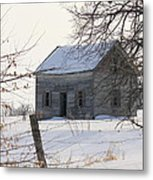 Abandoned But Not Forgotten Metal Print