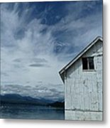 Abandoned By The Water Metal Print