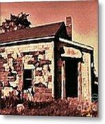 Abandoned Cape Breton House Metal Print by John Malone