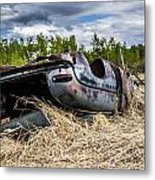 Abandoned Car Metal Print