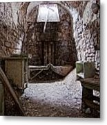 Abandoned Cell 2 Metal Print