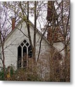 Abandoned Church Metal Print