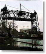 Abandoned Eagle Ave Bridge Metal Print