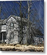 Abandoned Except For Ghosts Metal Print