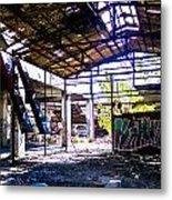 Abandoned Factory Metal Print