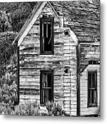 Abandoned Farmhouse - Alstown - Washington - May 2013 Metal Print