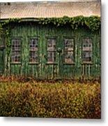 Abandoned Green Sugar Mill Building Dsc04353 Metal Print
