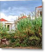 Abandoned Holiday Resort Metal Print