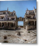 Abandoned Holidays Metal Print