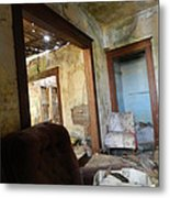 Abandoned Homestead Series Decay Metal Print