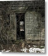 Abandoned House - Enter House On The Hill Metal Print