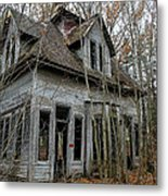 Abandoned House In New Hampshire Metal Print