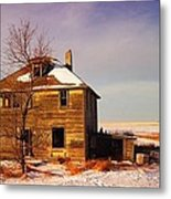 Abandoned House Metal Print by Jeff Swan