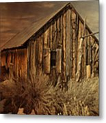 Abandoned In The West Metal Print