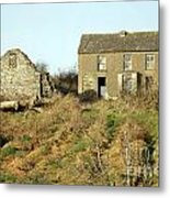 Abandoned Irish Farm Metal Print