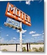 Abandoned Motel Metal Print