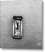 Abandoned Payphone. Nyc. Metal Print
