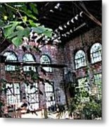 Abandoned Power House Metal Print