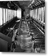 Abandoned Railcar Metal Print