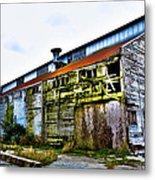 Abandoned Warehouse On The Swinomish Channel - La Conner Washington Metal Print