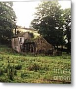 Abandoned Yorkshire House  Metal Print