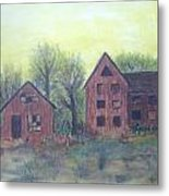 Abandoned Metal Print by Andrea Friedell
