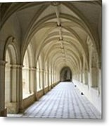 Abbaye De Frontevraud  Cross Coat Metal Print