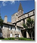 Abbey Church St. Philibert - Tournus Metal Print