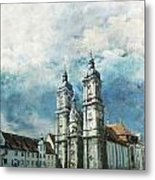 Abbey Of St Gall Metal Print