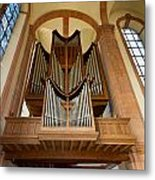 Abbey Organ Metal Print