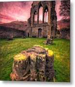 Abbey Ruin Metal Print