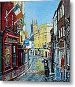 Abbey Street Ennis Co Clare Ireland Metal Print