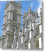 Abbey Towers Metal Print