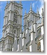 Abbey Towers Metal Print