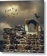 Abbey Wall Metal Print