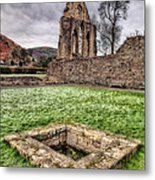 Abbey Well Metal Print