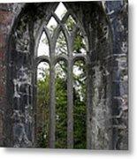 Abbey Window  Metal Print