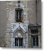 Abbot Palace Entrance Cluny Metal Print