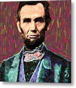 Abe 20130115 Metal Print by Wingsdomain Art and Photography