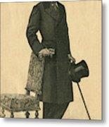 Abel Hermant (1862-1950) French Writer Metal Print