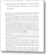 Abolition, 1789 Metal Print