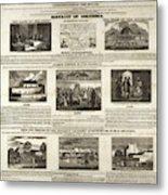 Abolitionism, 1736 Metal Print
