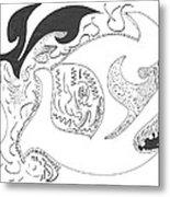 Aboriginal Metal Print