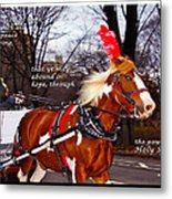 Abound In Hope Metal Print
