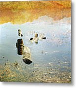 Above And Below Metal Print
